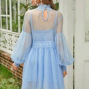 SHEIN Dresses - SHEIN beautiful baby blue dress